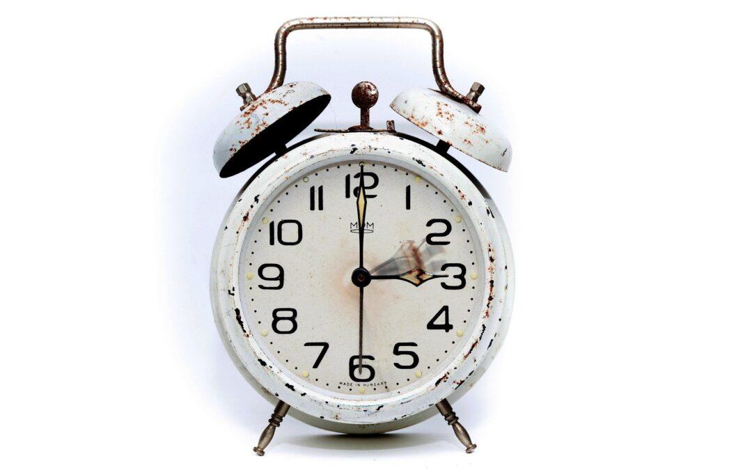 Changement d'heure et troubles du sommeil