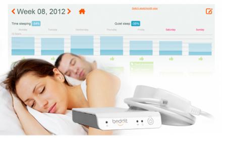 MISFIT beddit : La science au service de votre sommeil